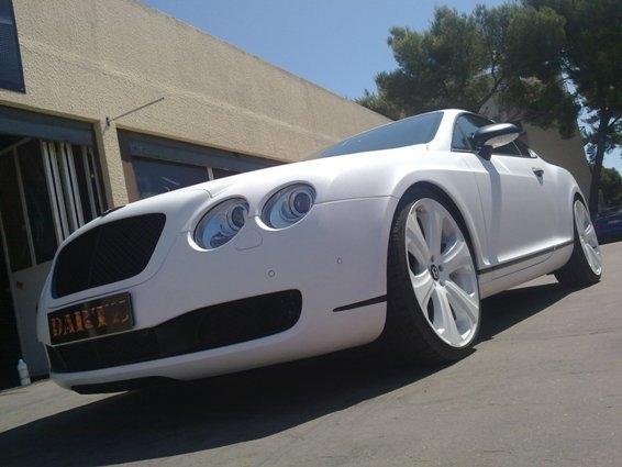 Dartz Bentley Continental GT White Snake Photo
