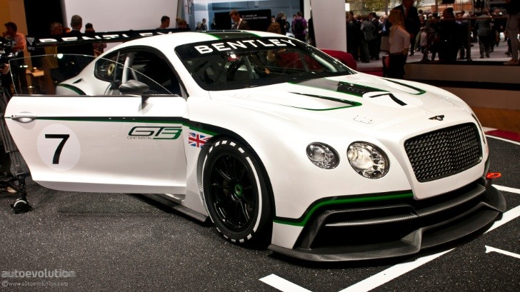 Bentley Continental GT3 Details Revealed