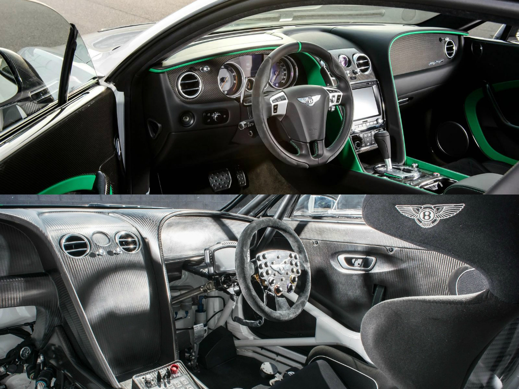 bentley continental gt3 r vs gt3 racecar comparison how far they 39 ve pushed it autoevolution. Black Bedroom Furniture Sets. Home Design Ideas