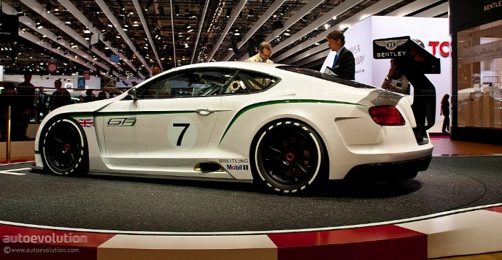 Bentley Continental GT3 to Get Street-Legal Version