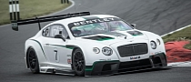 Bentley Continental GT3 to Make Race Debut in Abu Dhabi