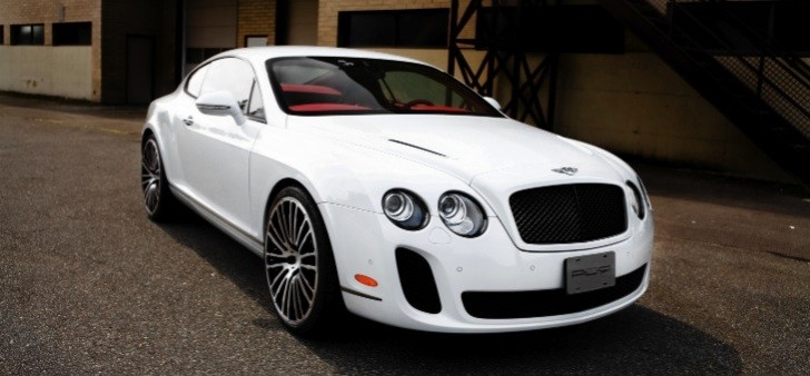 Bentley Continental Supersports on PUR Wheels
