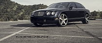 Bentley Flying Spur Shines on 22-inch Concavo Wheels [Photo Gallery]