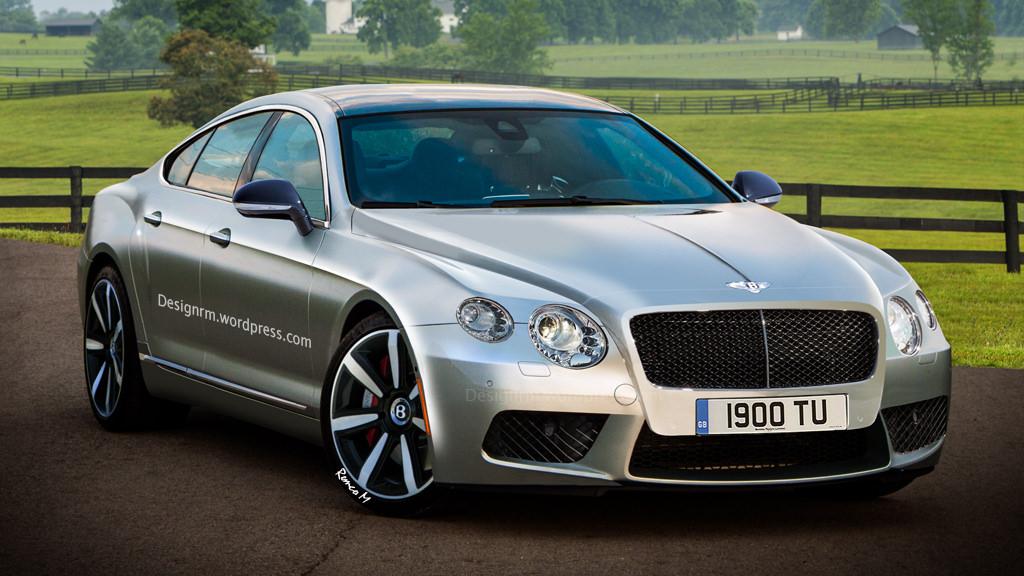 Bentley Four Door Coupe Comes Alive In Latest Renderings