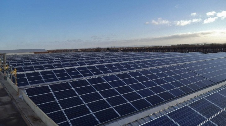 Bentley Goes Green With Largest Solar Panel System in UK