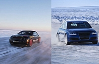 Audi RS6, Bentley Supersports, Nokian Hakkapeliitta 7 and Pirelli SottoZero II. Who holds the record?