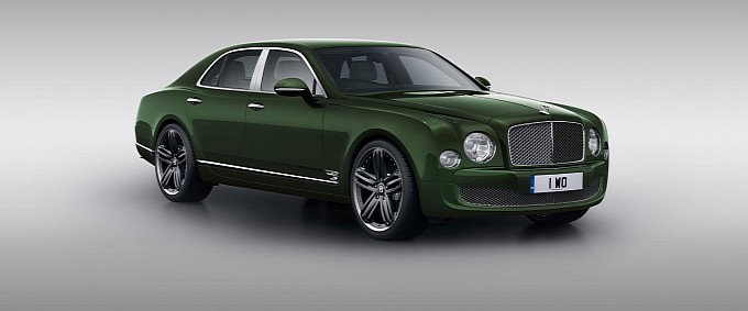 Bentley Mulsanne Le Mans Edition Headed for Pebble Beach Debut