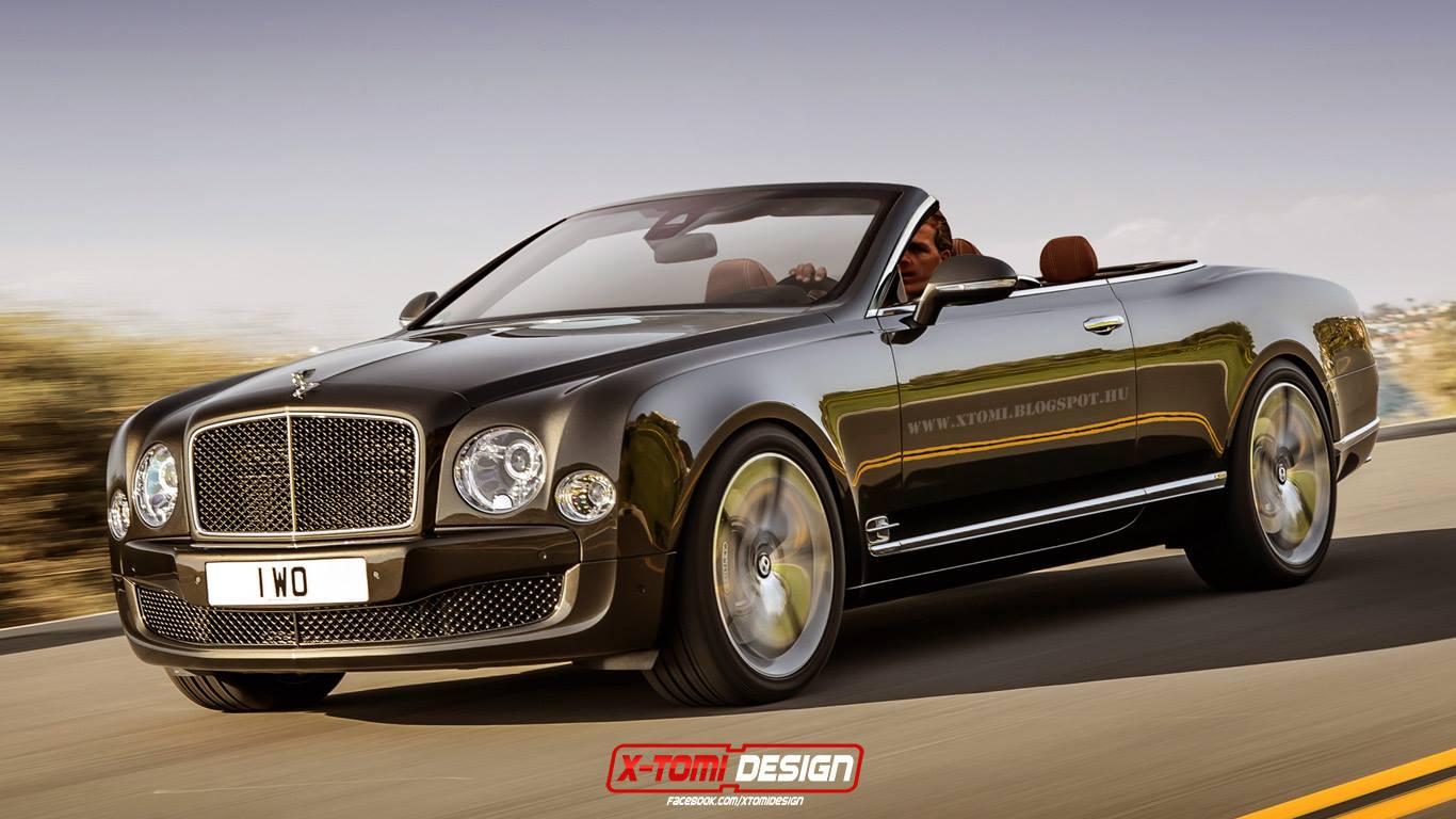 Кабриолет Bentley Mulsanne Speed Convertible, неофициально