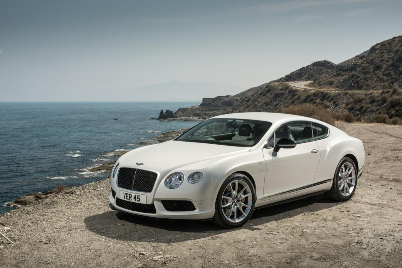Continental GTC V8 car - Color: White  // Description: beautiful fast