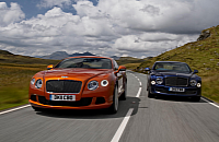 Bentley's Continental GT and Mulsanne
