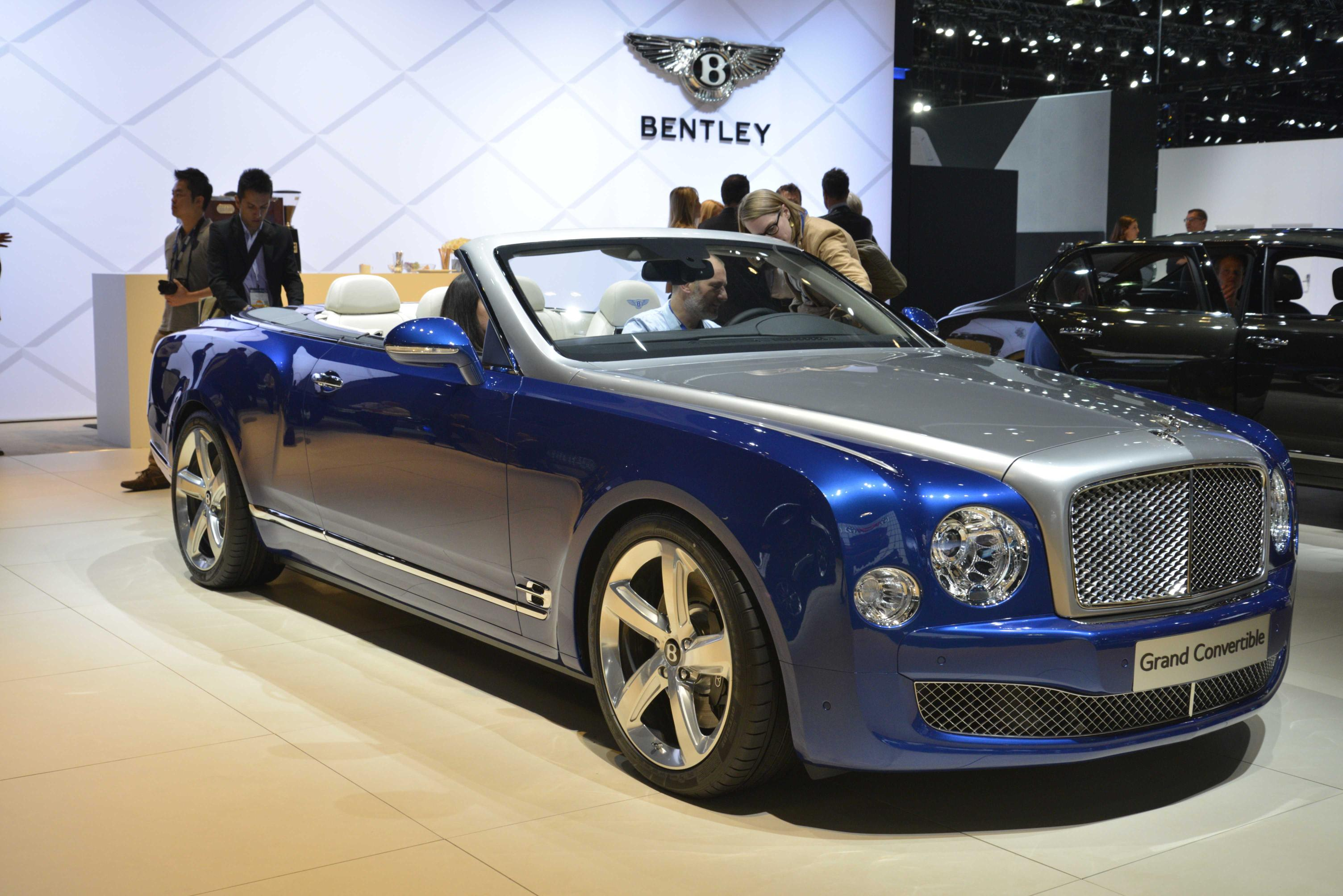 Bentley Shows Grand Convertible in LA, Production Depends on Your ...