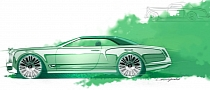 Bentley Shows Off Mulsanne Convertible Concept Renderings