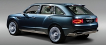 Bentley SUV to Get Restyled Ahead of 2014 Production
