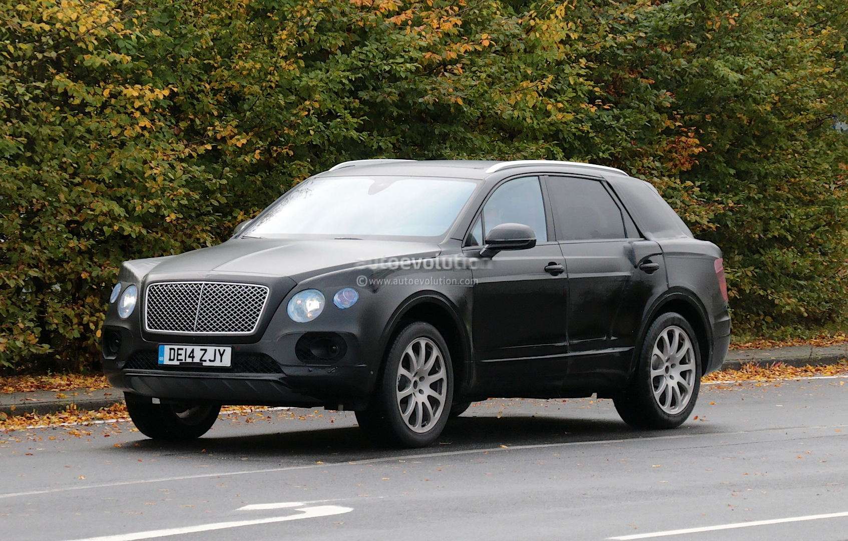 Bentley Suv Spied Near The Nurburgring