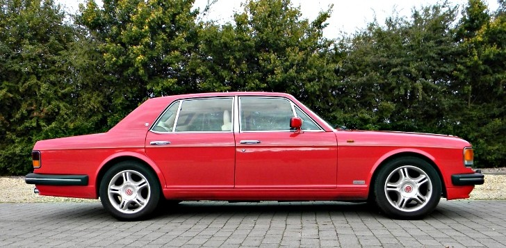 Bentley Turbo R Donated to Help Save Life