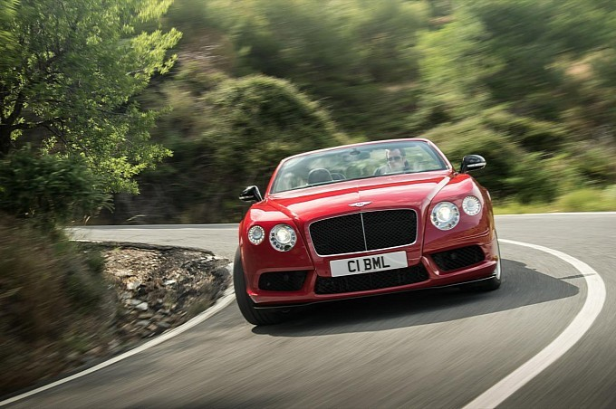 Bentley Working on Four-Door Coupe