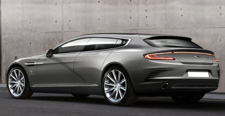 Bertone Preparing Aston Martin Rapide Shooting Brake for Geneva