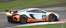 Best Flame Thrower Car Ever: McLaren MP4-12C GT3 [Video]