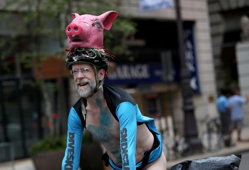 Philadelphia naked bike ride really