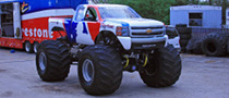 BIGFOOT Monster Truck Becomes a Chevrolet for the MLB
