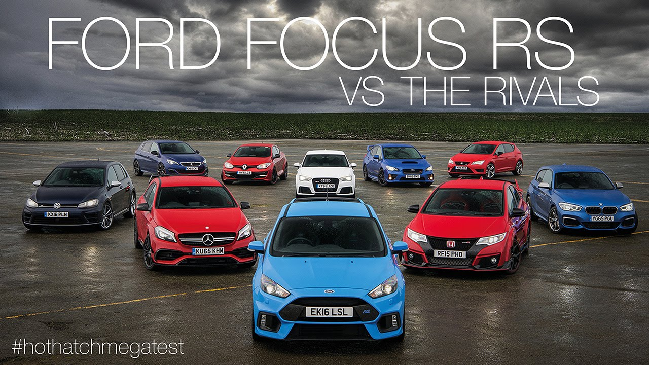 Alfa romeo giulia vs ford focus rs 15