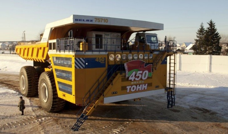 Biggest Truck On Earth Has Electric All-Wheel Drive: BELAZ ...