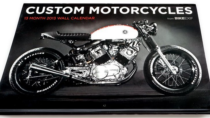 Bike EXIF Custom Motorcycle Calendar 2013