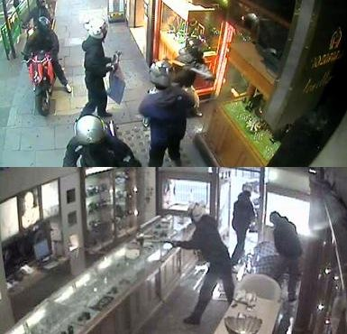 Biker thieves rob jewelry store in just 39 seconds for How do you rob the jewelry store in jailbreak