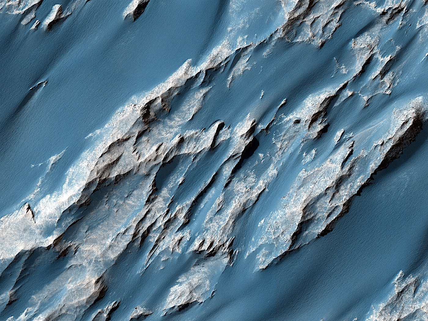 Billion Years Old Landslide Gives Away Some of Mars' Secrets, Some We Knew Already - autoevolution