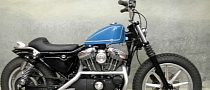 Biltwell Cafe-Racer Seats for Older Harley-Davidson Sportsters