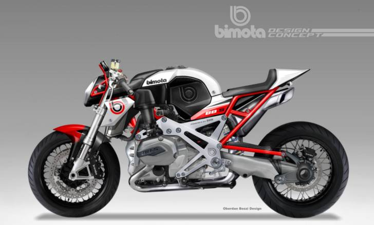Bimota Café Racer Powered By A Bmw Boxer 1200cc Plant Take My Money