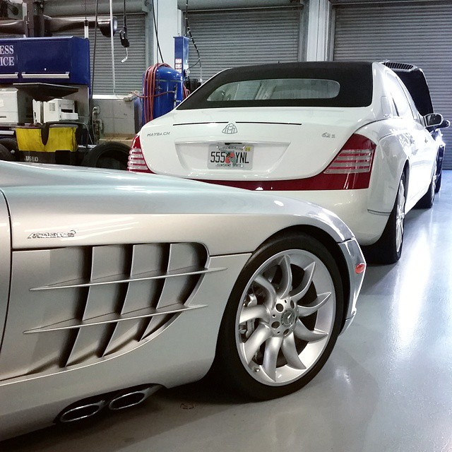 Birdman's Maybach Landaulet Is In For Repairs: Planning To