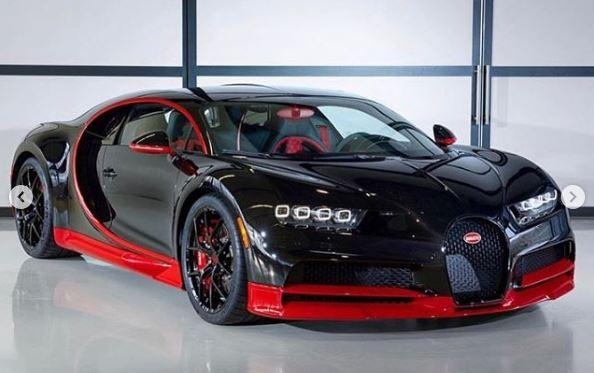 Black and Red Bugatti Chiron Sport Shows Majestic Spec - autoevolution