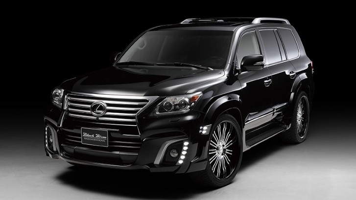 Black Bison Lexus LX by Wald International [Photo Gallery]