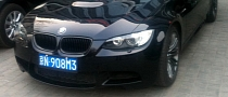 Black BMW E92 M3 Spotted in China