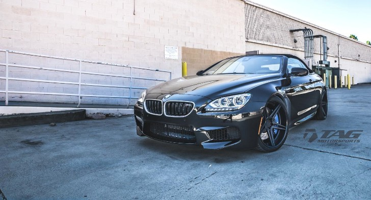 Black BMW F12 M6 Convertible Hails from TAG Motorsports [Photo Gallery]