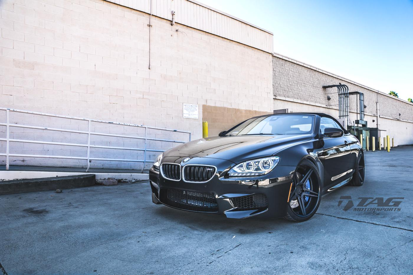 Black BMW F12 M6 Convertible Hails from TAG Motorsports ...