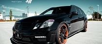 Black Brabus E63 AMG on PUR Wheels [Photo Gallery]
