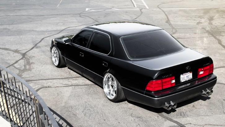 Black Low Lexus Ls Is Classy Photo Gallery