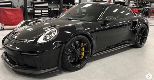 Black On Black 2019 Porsche 911 GT3 RS Looks Sinister