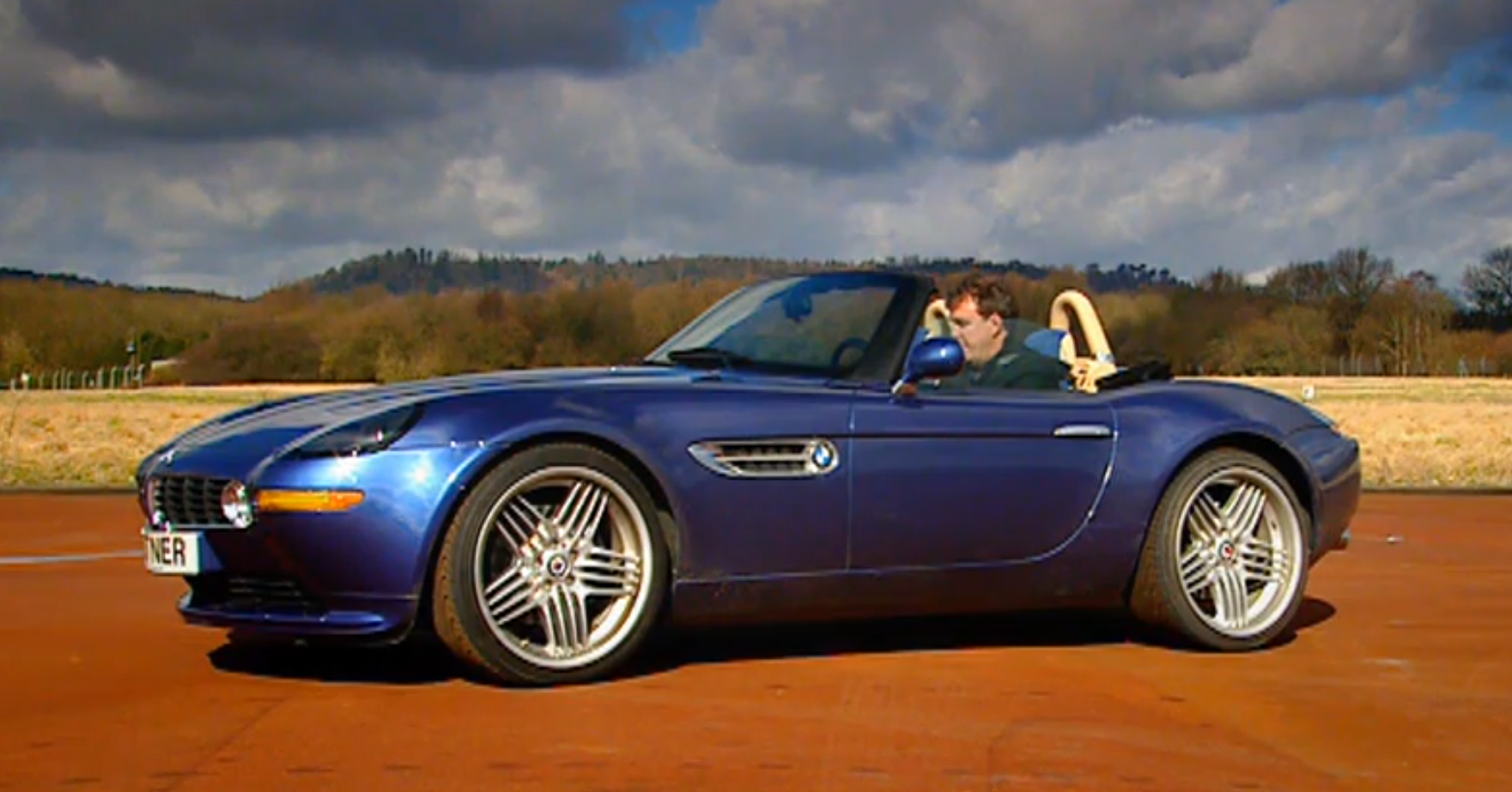 Black Stig Tests The Alpina Z8 Roadster On Top Gear