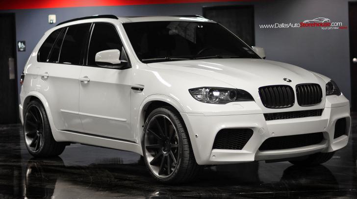 Black & White BMW X5 M for Sale - autoevolution