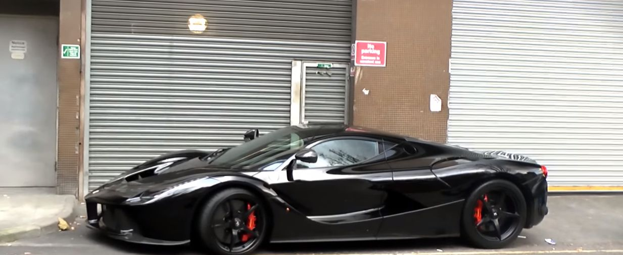 Blacked Out Laferrari Is Dressed For The Occasion In