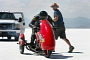 Blind Rider Dan Parker to Race the Bonneville Salt Flats