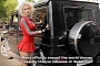 Blonde Playboy Model Tests Mercedes G-Class [Video] [Photo Gallery]