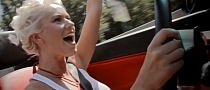 Blonde Takes Summer Road Trip in Gallardo Spyder [Video]