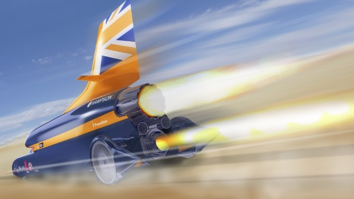 Bloodhound SSC's Bodywork Can Take a Bullet Like Nothing Happened - Video