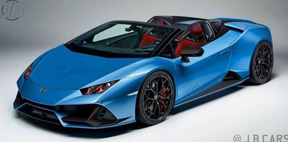 Blu Aegir Lamborghini Huracan Evo Spyder Is A Screaming Spec