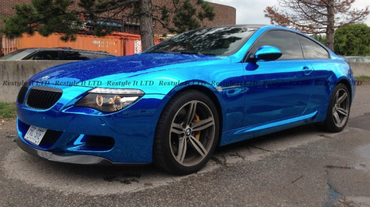 Blue Chrome BMW E63 M6 Hails from Canada [Photo Gallery]