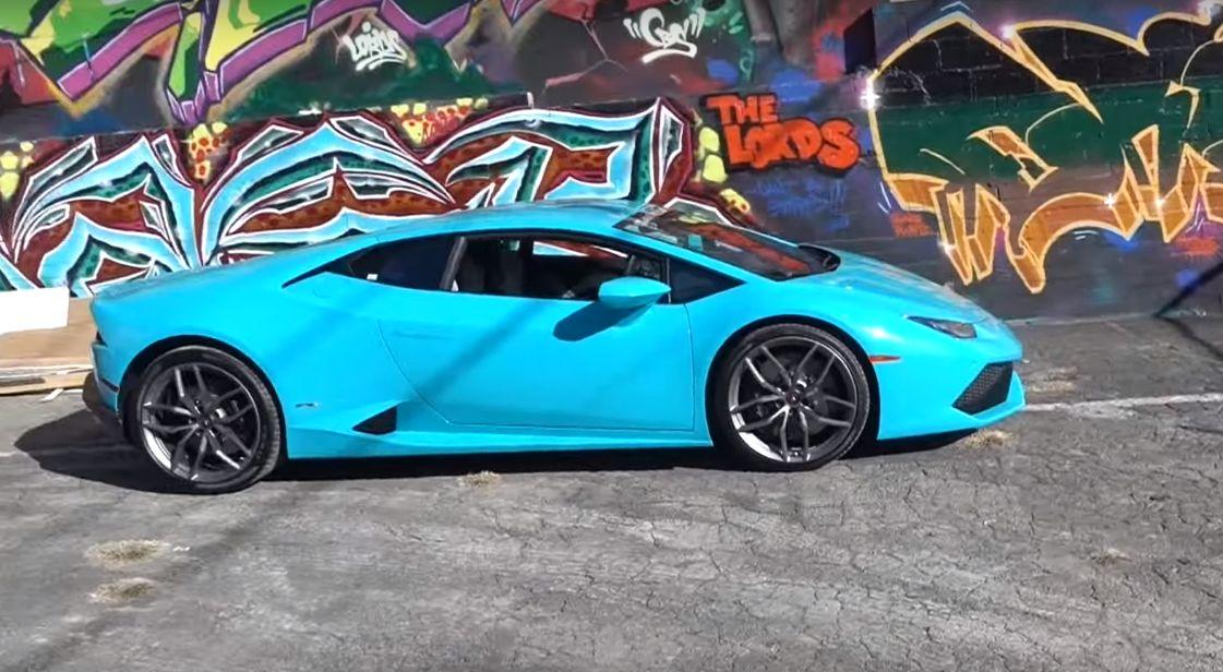 since - Lamborghini Huracan Blue